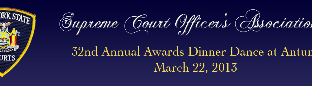 32nd Annual Awards Dinner Dance
