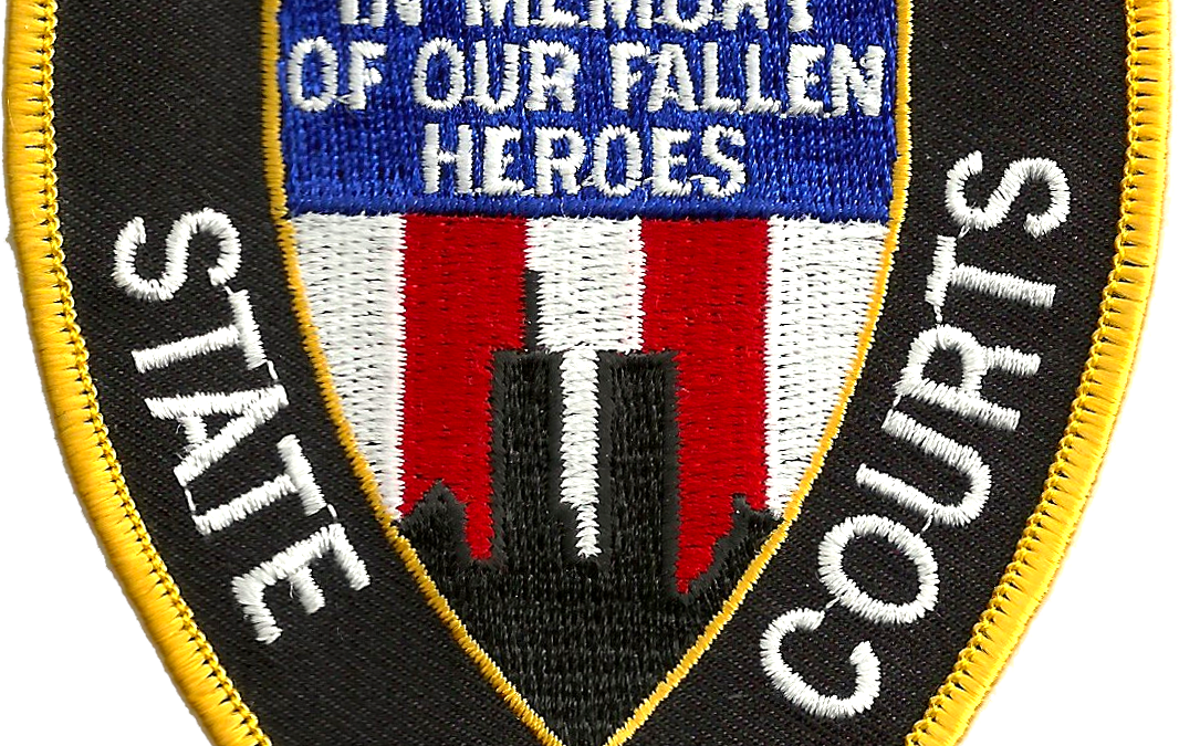 Civil Service:  Court Officers who died racing into the World Trade Center on 9/11 honored