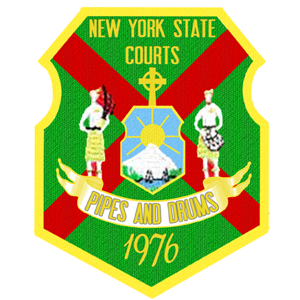 NYS Courts Pipes & Drums