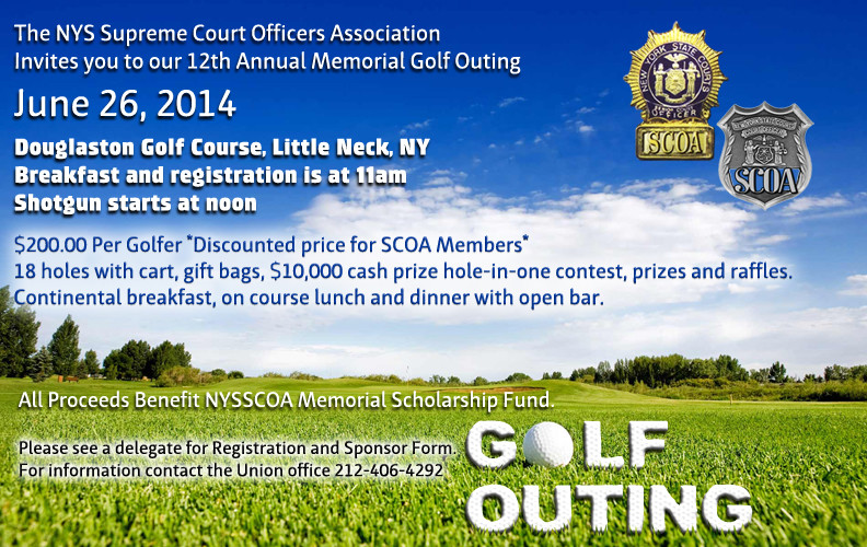 12th Annual Memorial Golf Outing