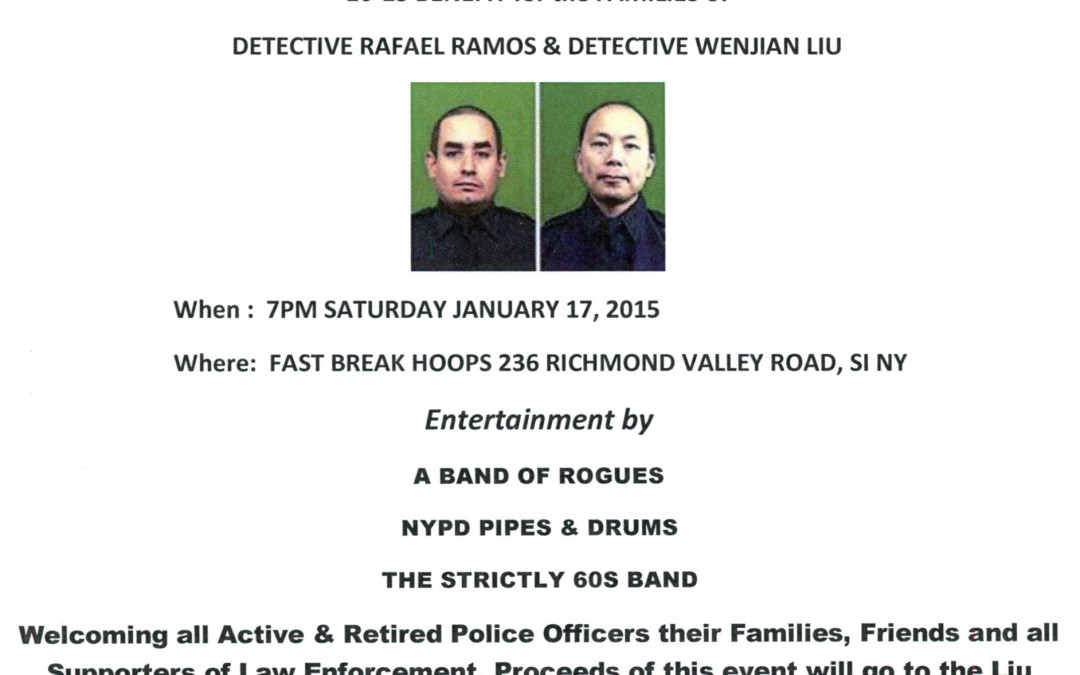 10-13 Benefit for the Families of Det. Ramos & Det. Liu