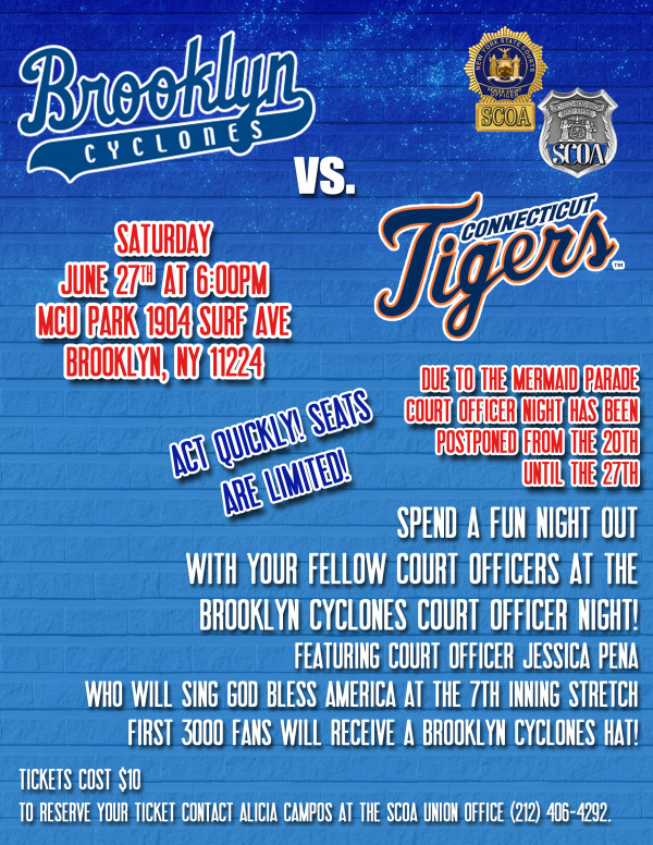 Brooklyn-Cyclones-Court-Officer-Night
