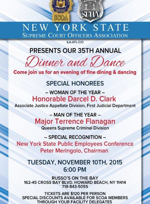 35th Annual Awards Dinner Honorees