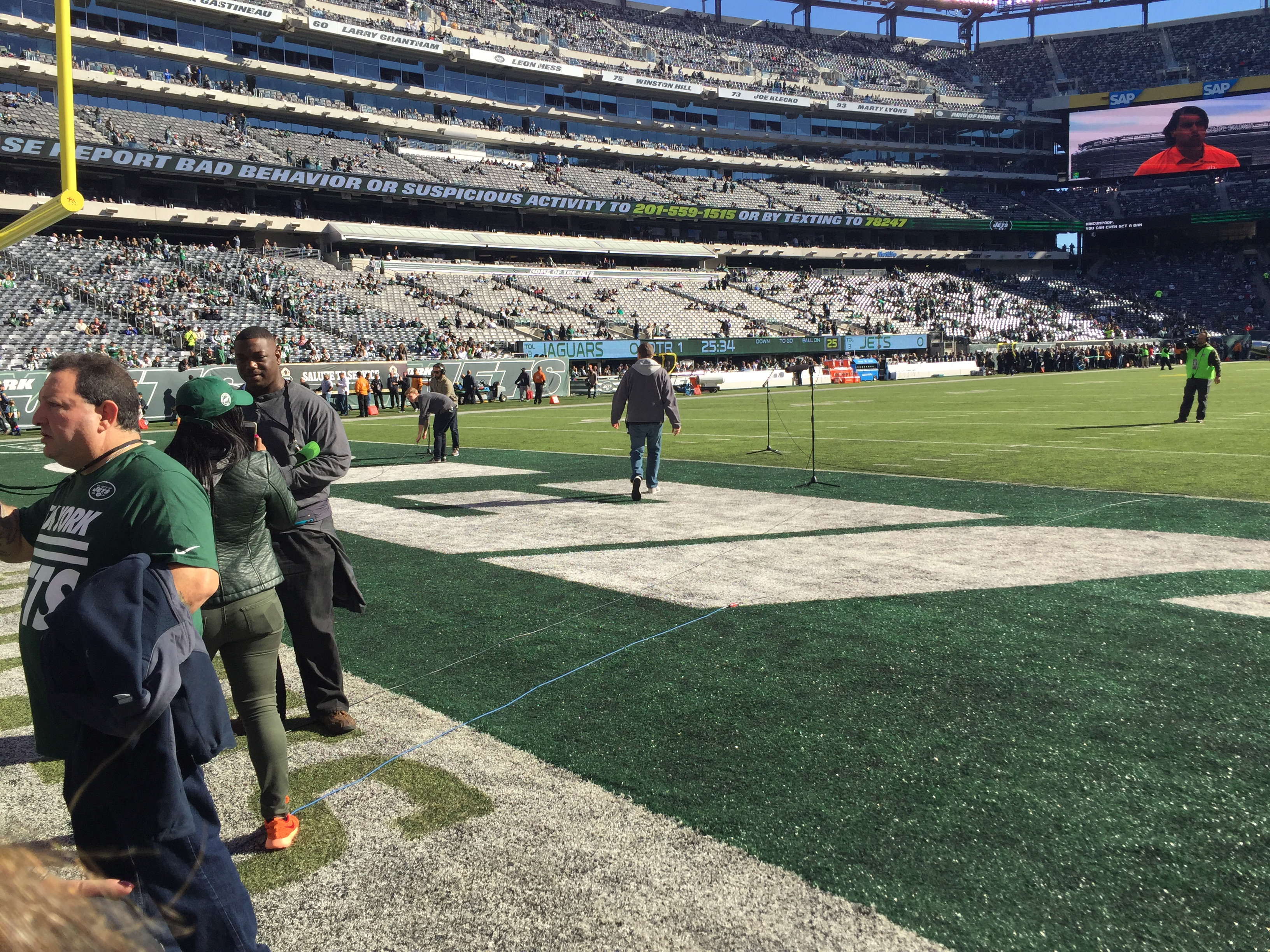 NY Jets Outing1