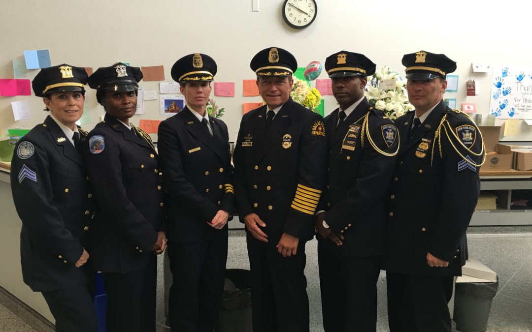 NYS Court Officers at Dallas Funeral