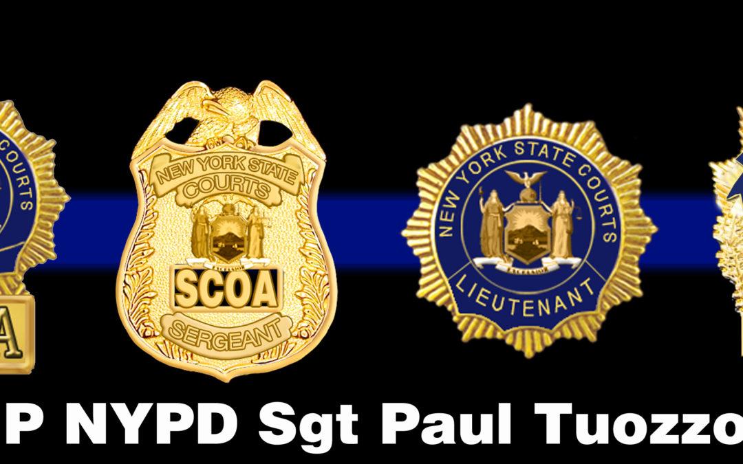 The Death of NYPD Sgt Paul Tuozzolo