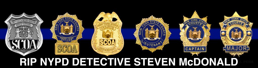 Passing of NYPD Detective Steven McDonald