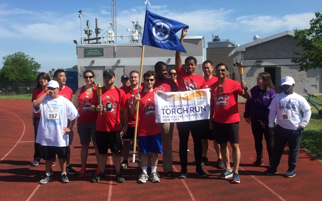 Law enforcement torch run to benefit Special Olympics NY