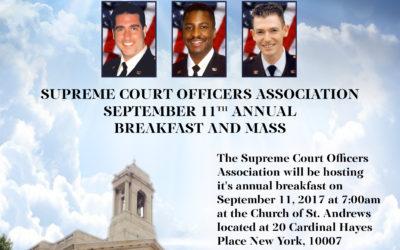 SCOA Sept. 11th Annual Breakfast & Mass