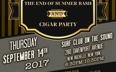 SCOA End of Summer Bash and Cigar Party