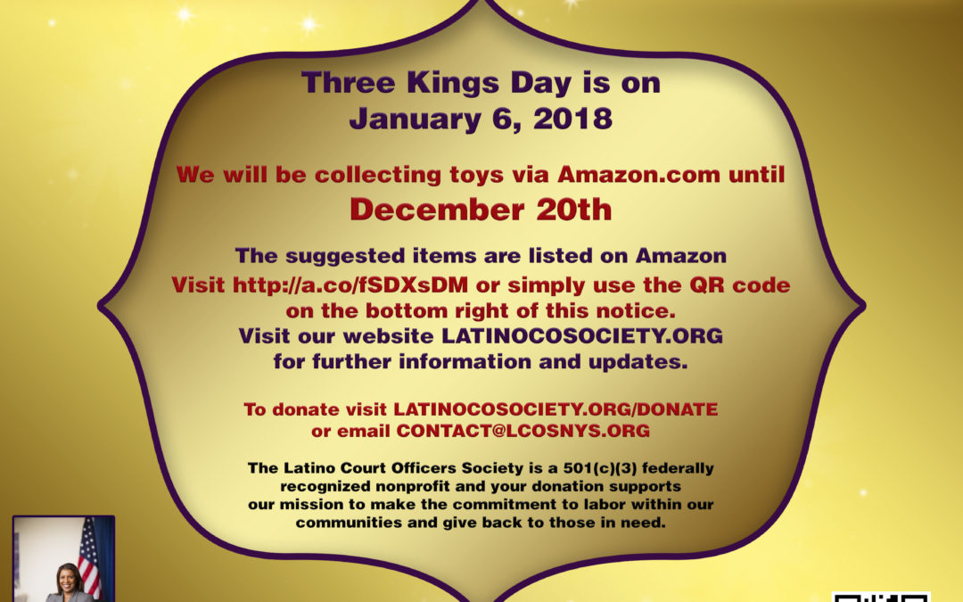 Three Kings Toy Drive for the Children of Puerto Rico