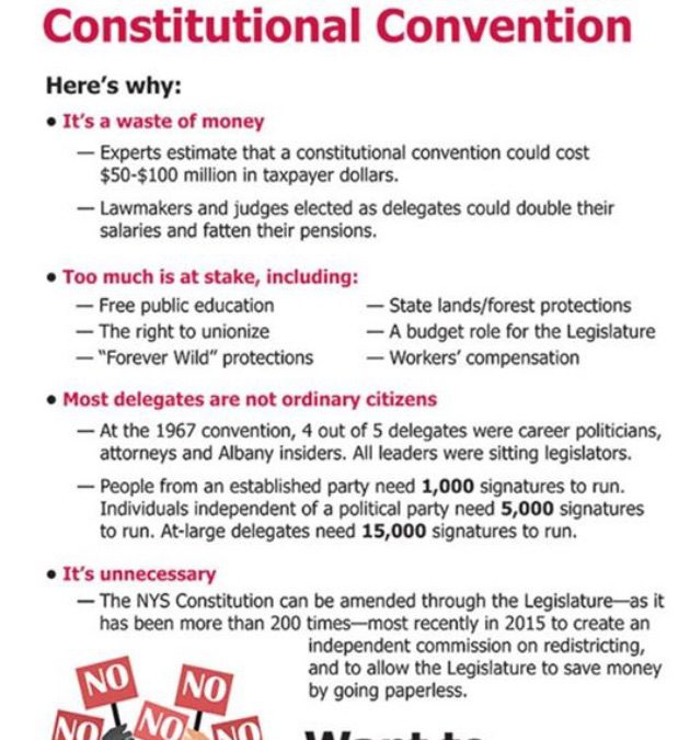 VOTE NO!  Constitutional Convention